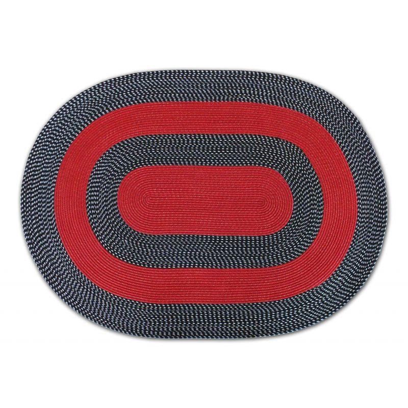Dywan sznurkowy Maestro owalny - czerwony