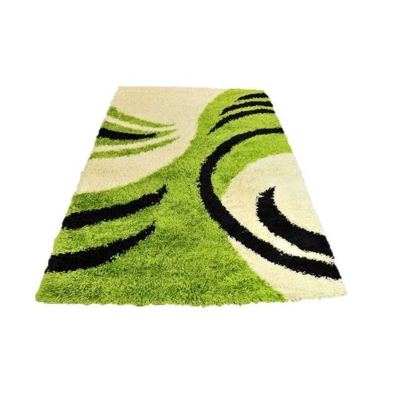 Dywan shaggy 10 zielony