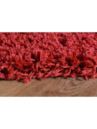 Dywan shaggy 06 czerwony