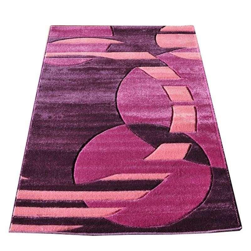 Dywan nowoczesny Fantazja 01S - fioletowy