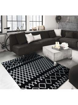 Dywan nowoczesny Maroko 03 - czarny