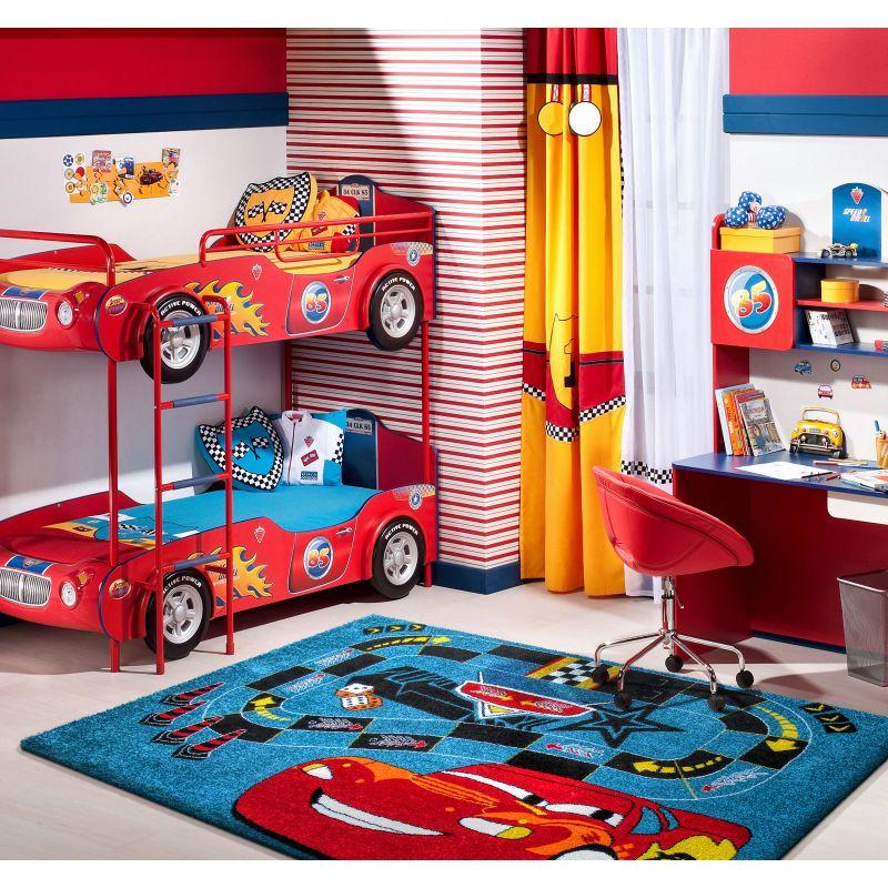 Dywan dziecięcy Mondo 06 Samochodzik niebieski