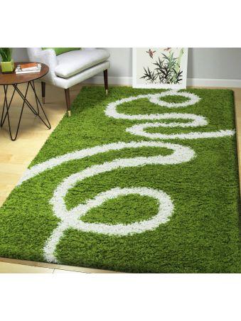 Dywan shaggy 04 zielony