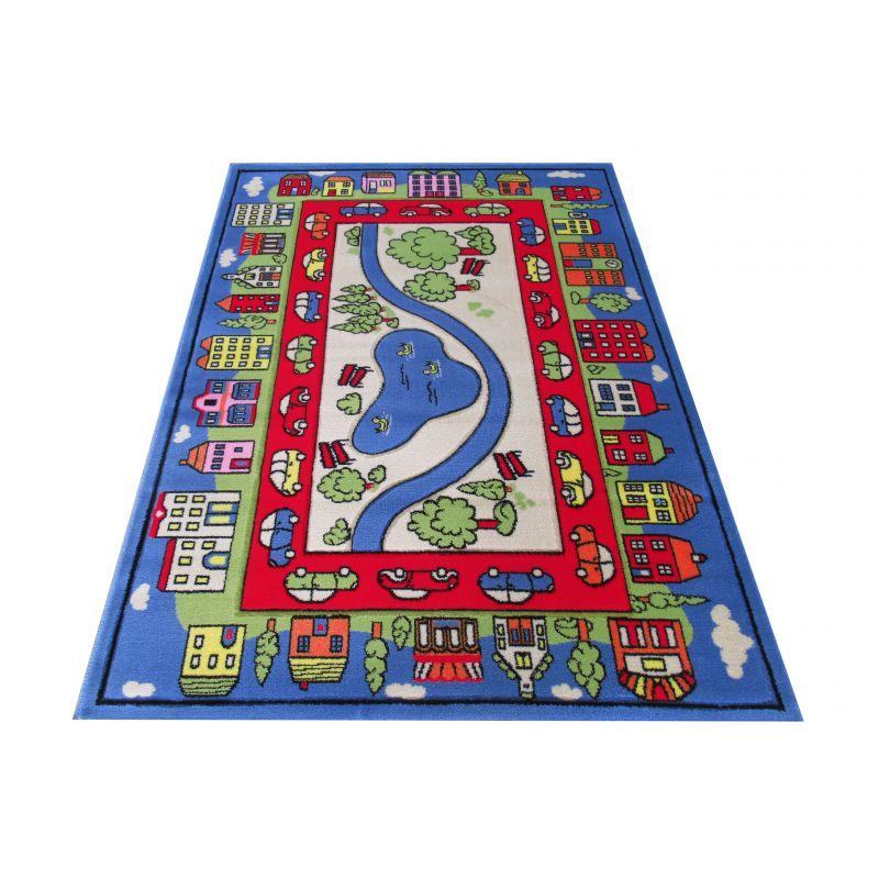 Dywan dziecięcy Smyk 10 - niebieski