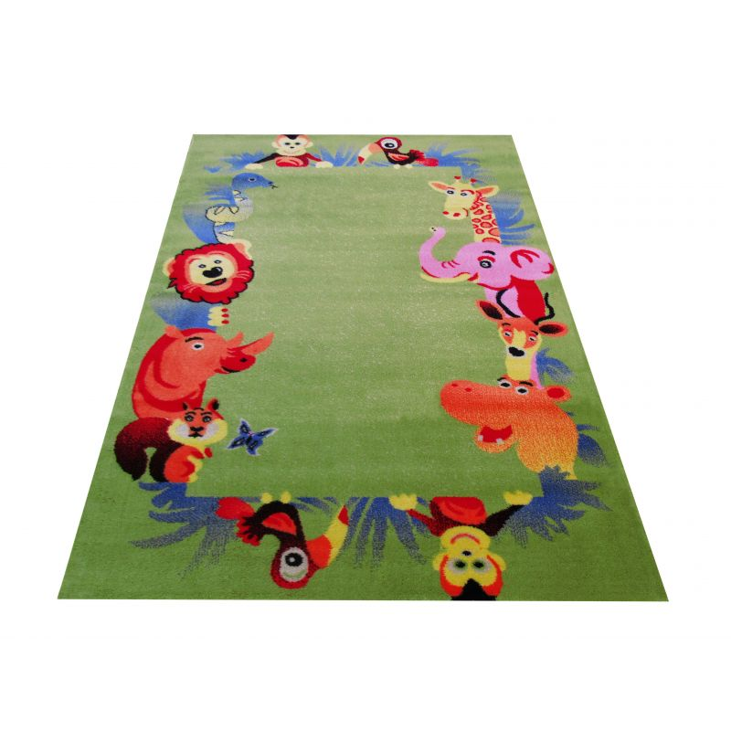 Dywan dla dziecka Kids 12 - zielony