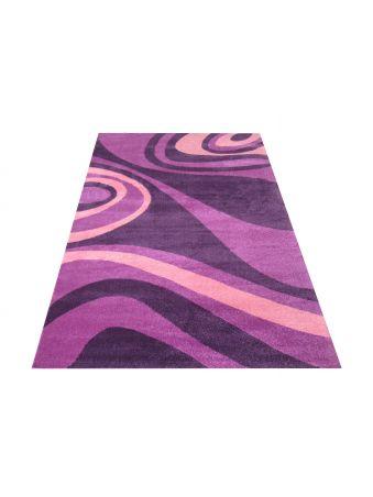 Dywan nowoczesny Fantazja 05 - fioletowy