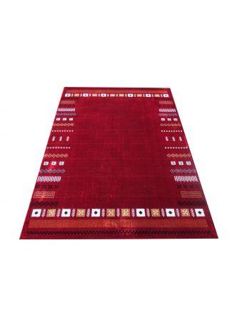 Dywan nowoczesny czerwony Gabbeh 01