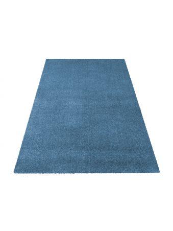 Dywan Portofino jednolity niebieski
