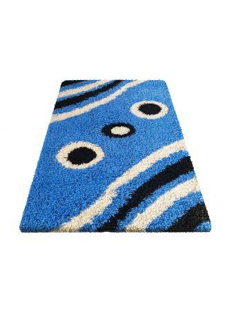 Dywan shaggy 08 niebieski