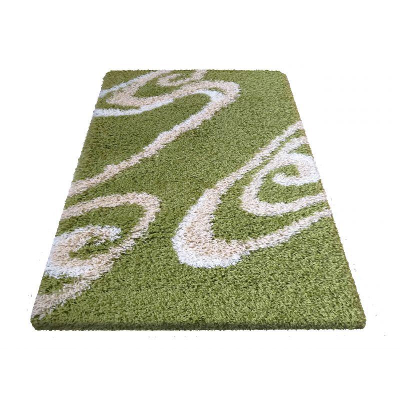 Dywan nowoczesny shaggy 05 - zielony