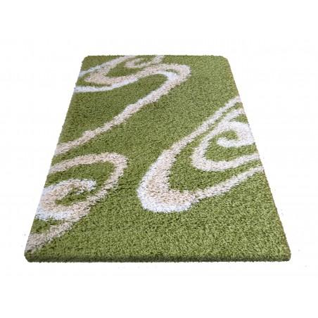 Dywan nowoczesny shaggy 05 zielony