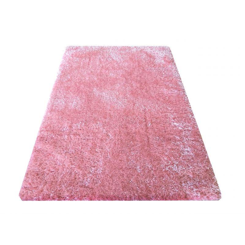 Dywan typu shaggy Merinos - pudrowy różowy