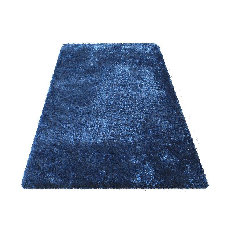 Dywan typu shaggy Merinos - niebieski