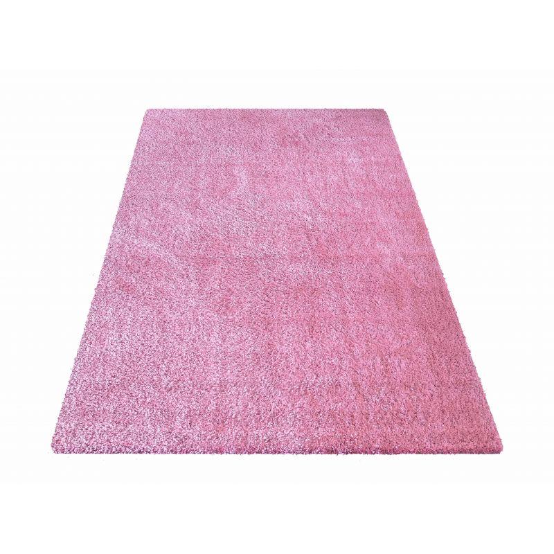 Dywan Kamel - typu Shaggy nowoczesny, mięciutki -  pudrowy różowy