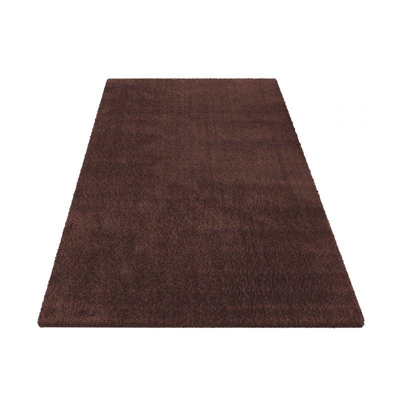 Dywan Kamel - typu Shaggy nowoczesny, mięciutki -  brązowy