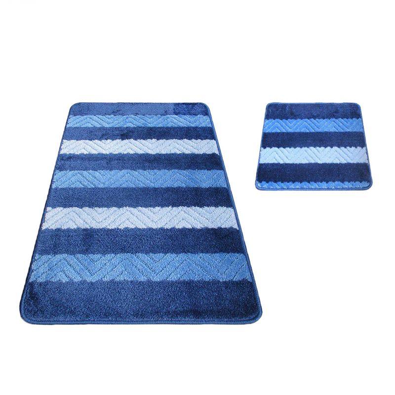 Komplet łazienkowy Montana 02 - niebieski