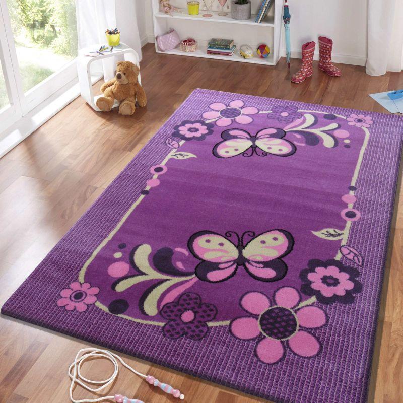 Dywan dla dziecka Smyk 14 - fioletowy