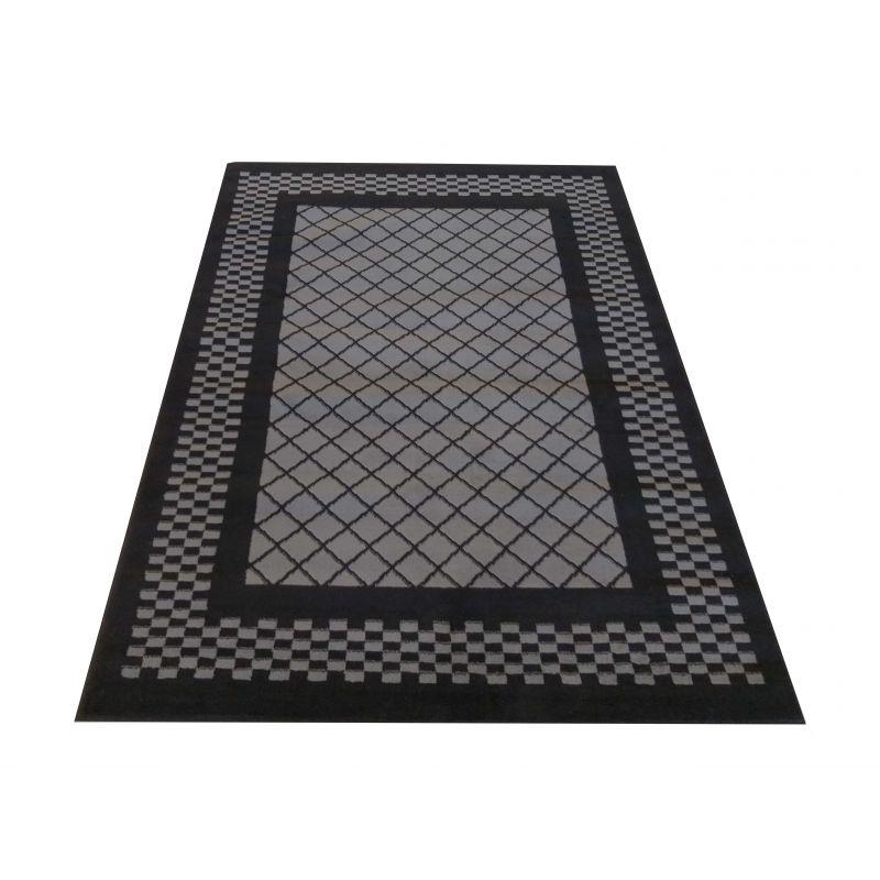 Dywan nowoczesny Soho 03 - czarno - szary