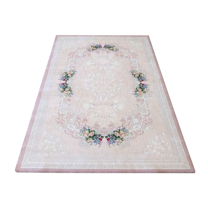 Pokrowiec na dywan 01 - pudrowy