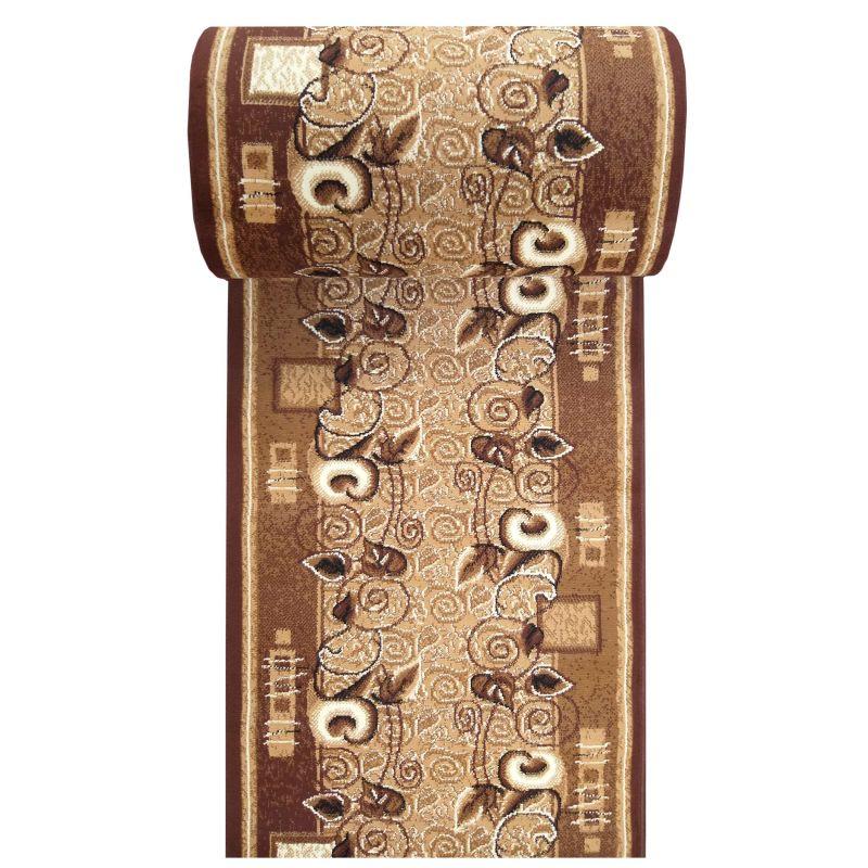 Chodnik BCF Alfa 11 - brązowy - szerokość od 60 cm do 120 cm