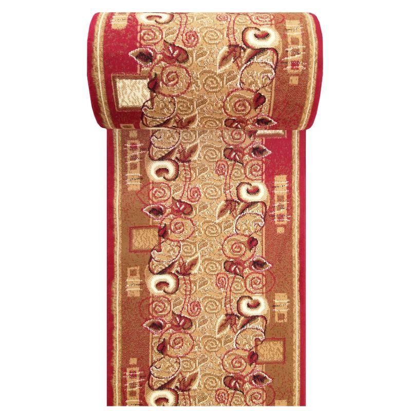 Chodnik BCF Alfa 11 - czerwony - szerokość od 60 cm do 120 cm