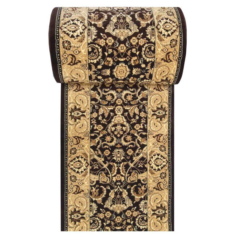 Chodnik Exclusive 02 - brązowy - szerokość od 60 cm do 120 cm