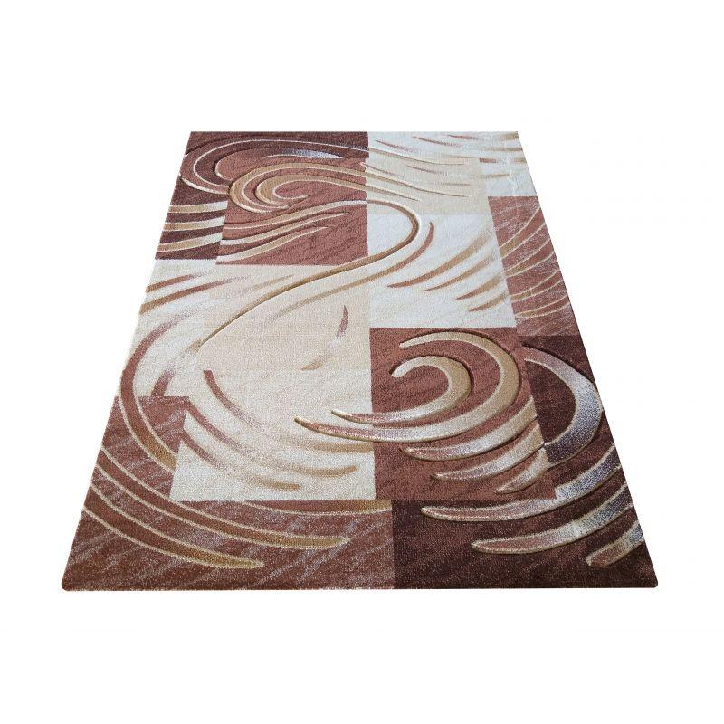 Dywan klasyczny Fenix 01S - brązowy