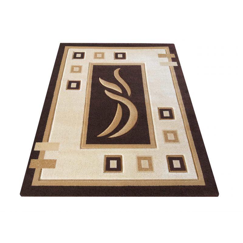 Dywan klasyczny Fenix 07S - brązowy