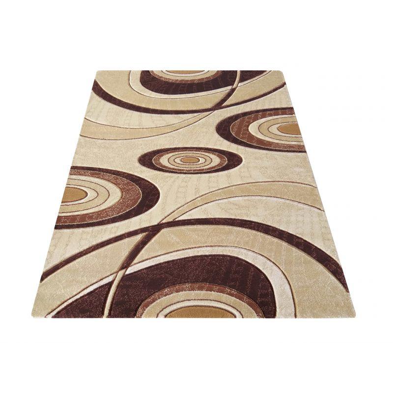 Dywan klasyczny Fenix 11 - beżowo - brązowy