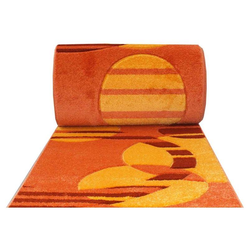 Chodnik Fantazja 01S - pomarańczowy - 60 - 100cm