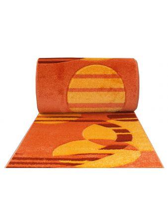 Chodnik Fantazja 01 - pomarańczowy - 60 - 100cm