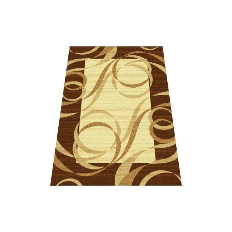 Dywan klasyczny Fenix 09S - brązowy