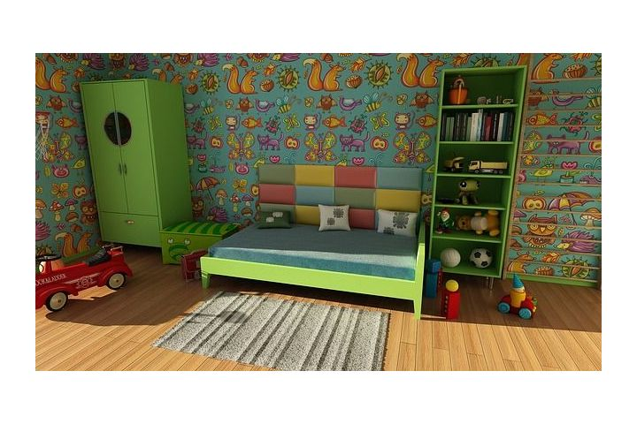 W dziecięcym pokoju
