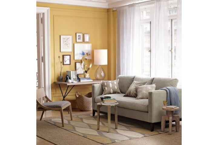 Dywan do żółtych ścian